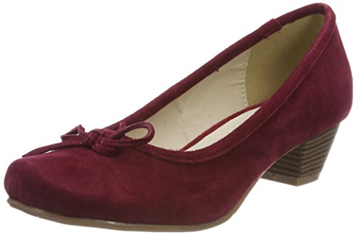 HIRSCHKOGEL Damen 3003401 Pumps, Rot (Bordo), 37 EU