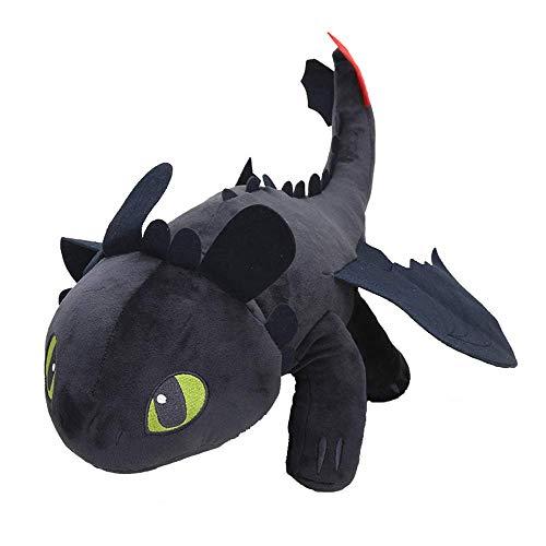 Night Fury Plush Toy How to Train Your Dragon 2 Toothless Dragon Stuffed Animal Dolls