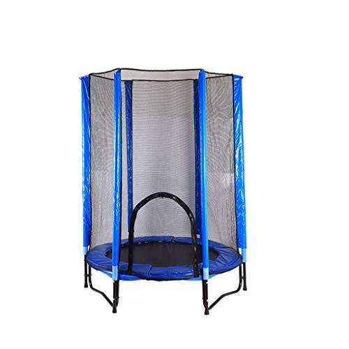 DNSJB Kinder-Trampolin und Zaun, 1,4 m, Blau