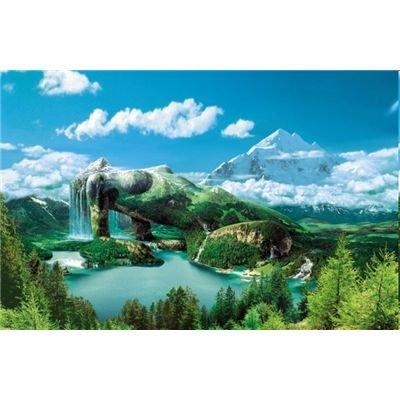 LUPU 2020 - Magische Landschaften: Magic Mountain, Puzzle 1000 Teile