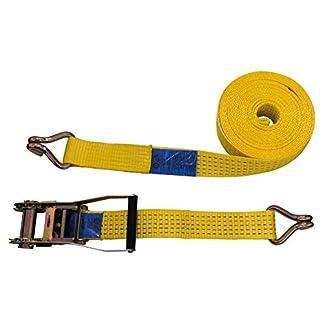 10 x Rachet Tie Down Straps Cargo Straps Trailer Tie Down 6m x 50mm 5000daN