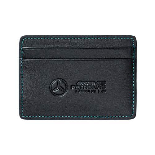 Mercedes-AMG Petronas - Merce Ufficiale di Formula 1 2021 Collezione - Uomo - Card Holder - - Nero - One Size