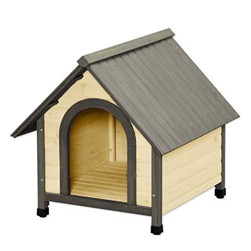 アイリスオーヤマ ウッディ犬舎 ブラウン W76×L84×H78.5cm