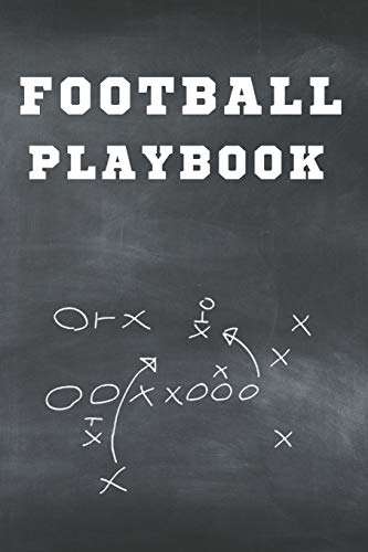 football playbook notebook: Football Notebook For Draw And Create Your Football Playbook
