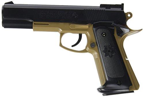 CyberGun Colt MK IV Series 70Gold Cup National Match Springer 6mm BB Bicolor