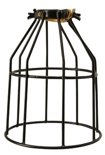 Coleman Cable Southwire 72002000 Replacement Metal Cage for Temporary String Lights, Black