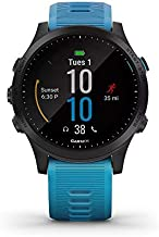 Garmin Forerunner 945 GPS Running Smartwatch with Music Tri-Bundle (Blue) and 1-Year Extended Warranty