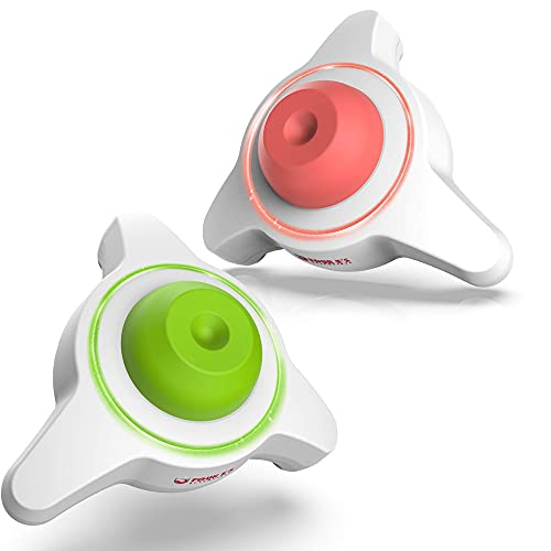 2 Pack Mini Vortex Mixer - 5600rpm Lab Vortex Shaker with USB Interface丨Touch Function 6mm Orbital Diameter for Test Tubes Tattoo Inks Acylic Paints Nail Polish (Green and Coral)