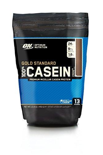 Optimum Nutrition Gold Standard 100% Casein Protein Powder Drink Mix Chocolate Supreme 450g