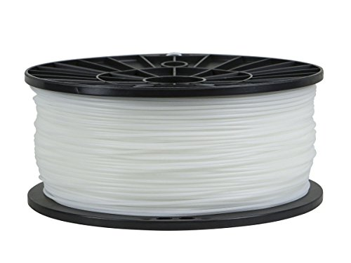 Monoprice Premium 3D Printer Filament, PLA - White, 1kg/spool, 1.75mm Thick, Very Low Shrinkage Rate (0.3%)