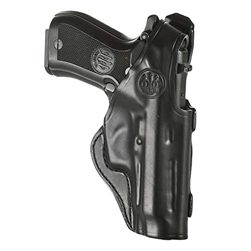 Beretta Leather Holster Mod. 06 for 80 Series; Right Hand-Ra S.84 Rh Blk; Medium