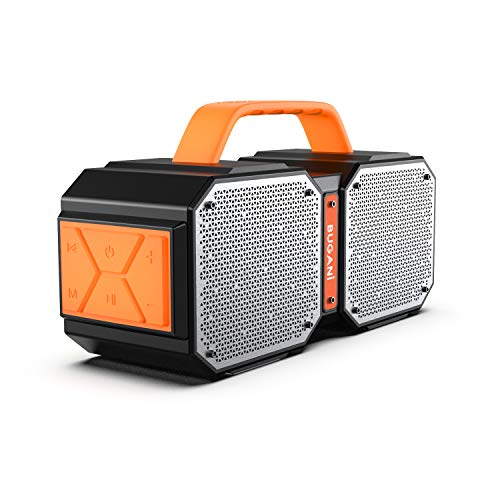 Bluetooth Speakers, Bugani M83 Waterproof Outdoor Speakers Bluetooth 5.0, 40W Wireless Stereo...