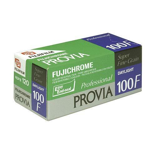 Fujifilm Fujichrome RDP III Provia 100F Farbumkehrfilm (120, 5-er Pack)