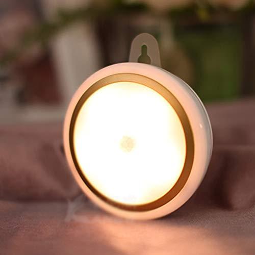 Luminaires & Eclairage/Luminaires intérieur/EC veilleuse LED capteur de Corps Commande vocale contrôle de la lumière Nuit USB Charge économie d'énergie Enfants Lampe d'alimentation de bébé Mini pa