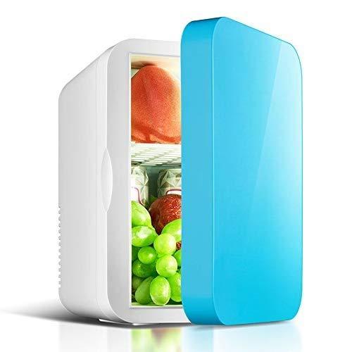 L.L.QYL Mini Nevera Mini refrigerador refrigerador Calentador |Capacidad 6L |Compacto, portátil y silencioso |Compatibilidad de alimentación de CA + CC sin freón Refrigerador del Coche