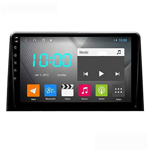 Android 10.0 Car Stereo Double DIN para Citroen Berlingo 2018-2020 Navegación GPS Unidad Principal de 9 Pulgadas Pantalla táctil Reproductor Multimedia MP5 Receptor de Video y Radio con 4G WiFi DSP