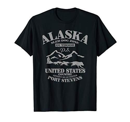 Alaska T-Shirt, Husky, Schlittenhunde