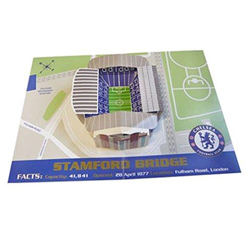 Chelsea F.C. Pop-Up Birthday Card