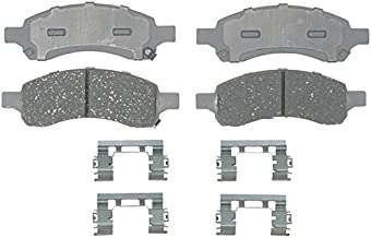 ACDelco 14D1169CH Advantage Ceramic Front Disc Brake Pad Set with Hardware
