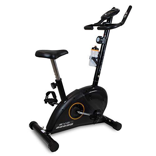 BH Fitness - EVO - B2600A VELBOS- Bicicleta estática con pulsómetro incorporado y pantalla LCD - Edición exclusiva