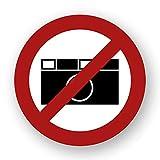 10 Stück Fotografieren verboten Aufkleber Foto Verbotszeichen Gebotszeichen Aufkleber mit UV Schutz Warnzeichen für Außenbereich Innenbereich Fotos von STROBO 9