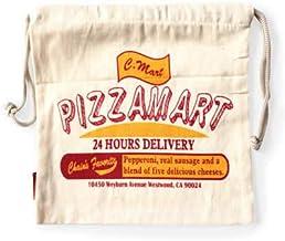CULTURE MART カルチャーマート 巾着袋 ミニポーチ/PIZZAMART 巾着 バッグ 小物入れ