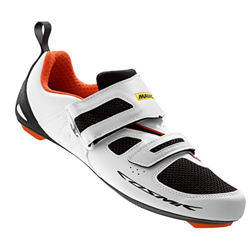 Mavic Cosmic Elite Tri, color blanco,naranja,negro, talla UK-9,5