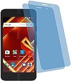 4ProTec I 2X Crystal Clear klar Schutzfolie für Archos Access 50 4G Bildschirmschutzfolie Displayschutzfolie Schutzhülle Bildschirmschutz Bildschirmfolie Folie