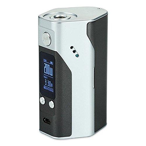 Wismec Reuleaux RX200S TC Box Mod, Farbe:schwarz/weiß