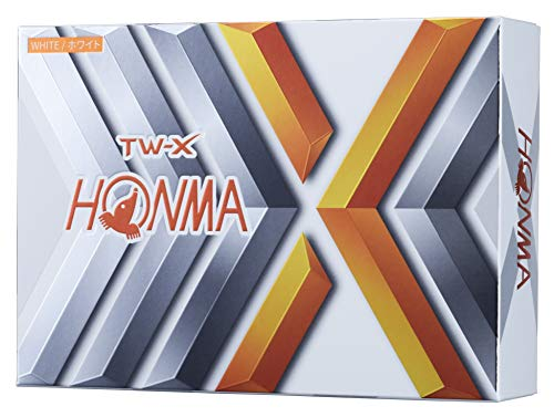 本間ゴルフ ゴルフボール TW-X TW-X BT1908 ホワイト