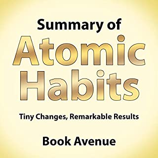 Summary of Atomic Habits cover art