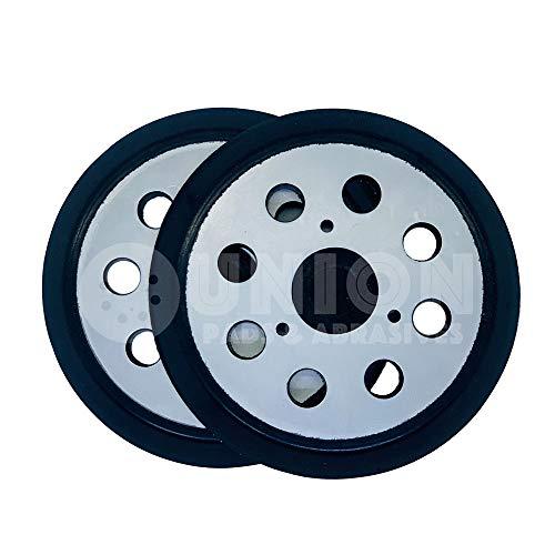 Union Pads & Abrasives OEM1 5 Inch 8 Hole Replacement Hook and Loop Orbital Sander Pad for DeWalt 151281-08, DW4388, Fits DeWalt, Makita, Porter Cable Orbital Sander DW421/K DW423/K 390K 382 343