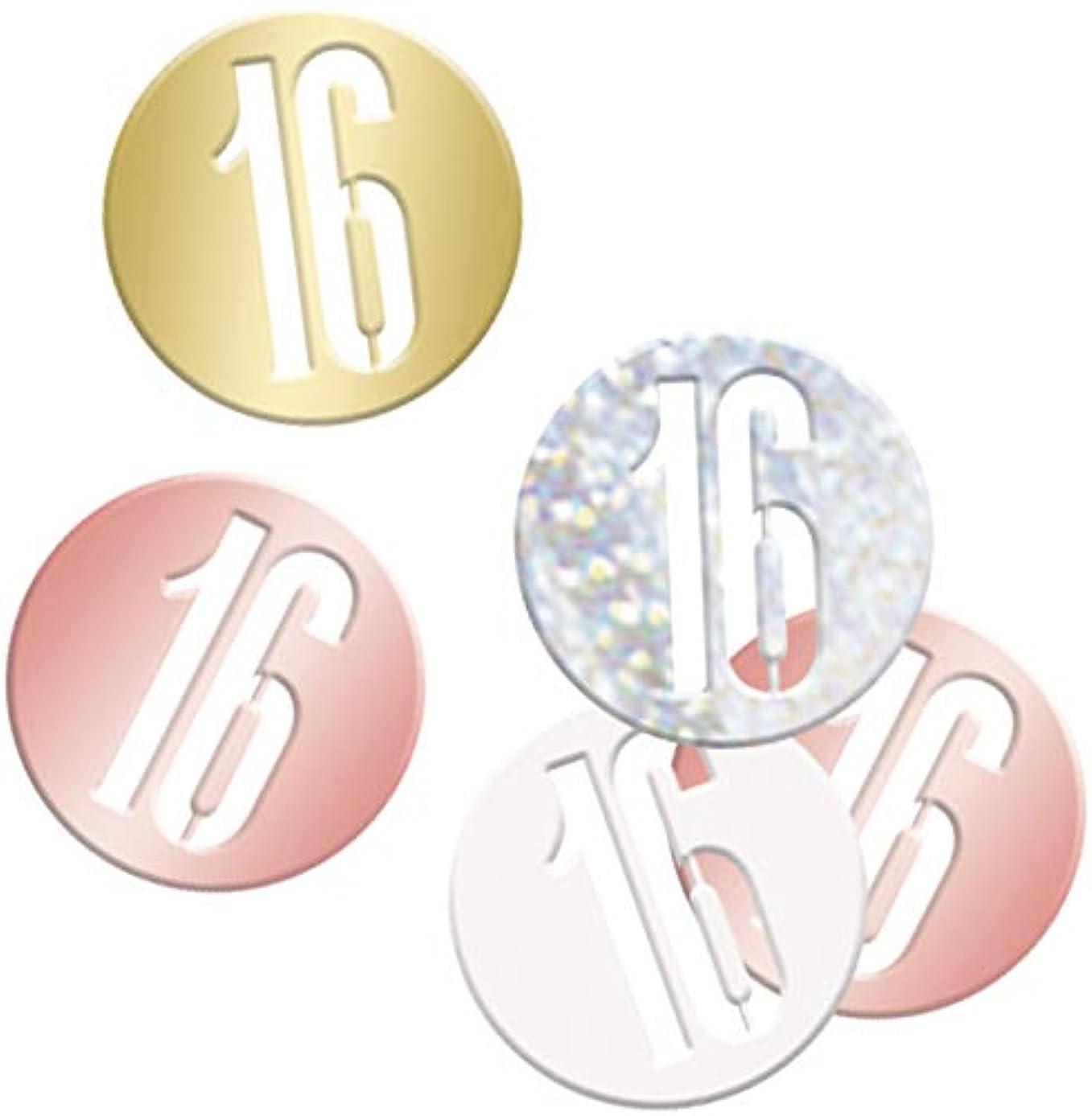 Unique Party 84945 Confetti, Rose Gold