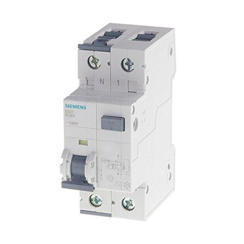 Siemens - Disjoncteur différentiel électrique 30 mA 40 A Type AC