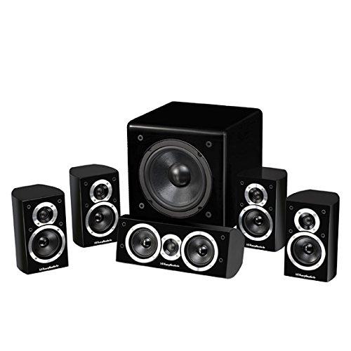 Wharfedale DX-1HCPB conjunto de altavoces - Set de altavoces (5.1, Universal, Amplifier,...