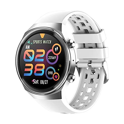 Ake QS8 Nuevo Reloj Inteligente con Llamadas Bluetooth Hombres Mujeres Impermeable SmartWatch Aptitud Pulsera,B