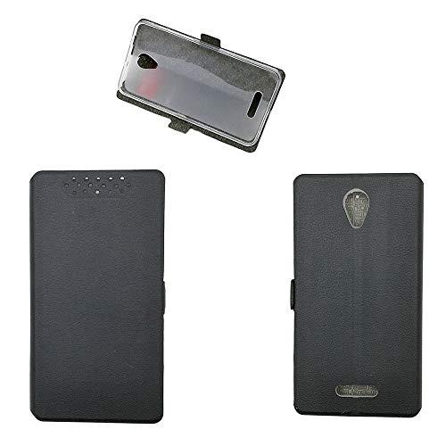 Qiongnian Schutzhülle für Alcatel Pop 4 Plus, Cover für TCL Optus X Smart 4G 5056I, Hülle für Alcatel One Touch Pop 4+ 5056A 5056E 5056G 5056D 5056X Schutzhülle Hülle Cover Schwarz