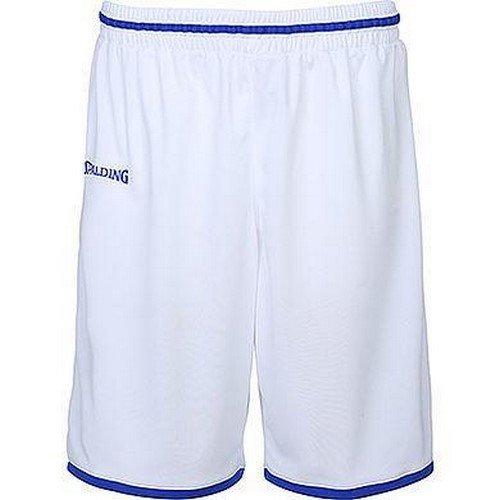 Spalding Kinder Move Shorts, weiß/Royal, 164