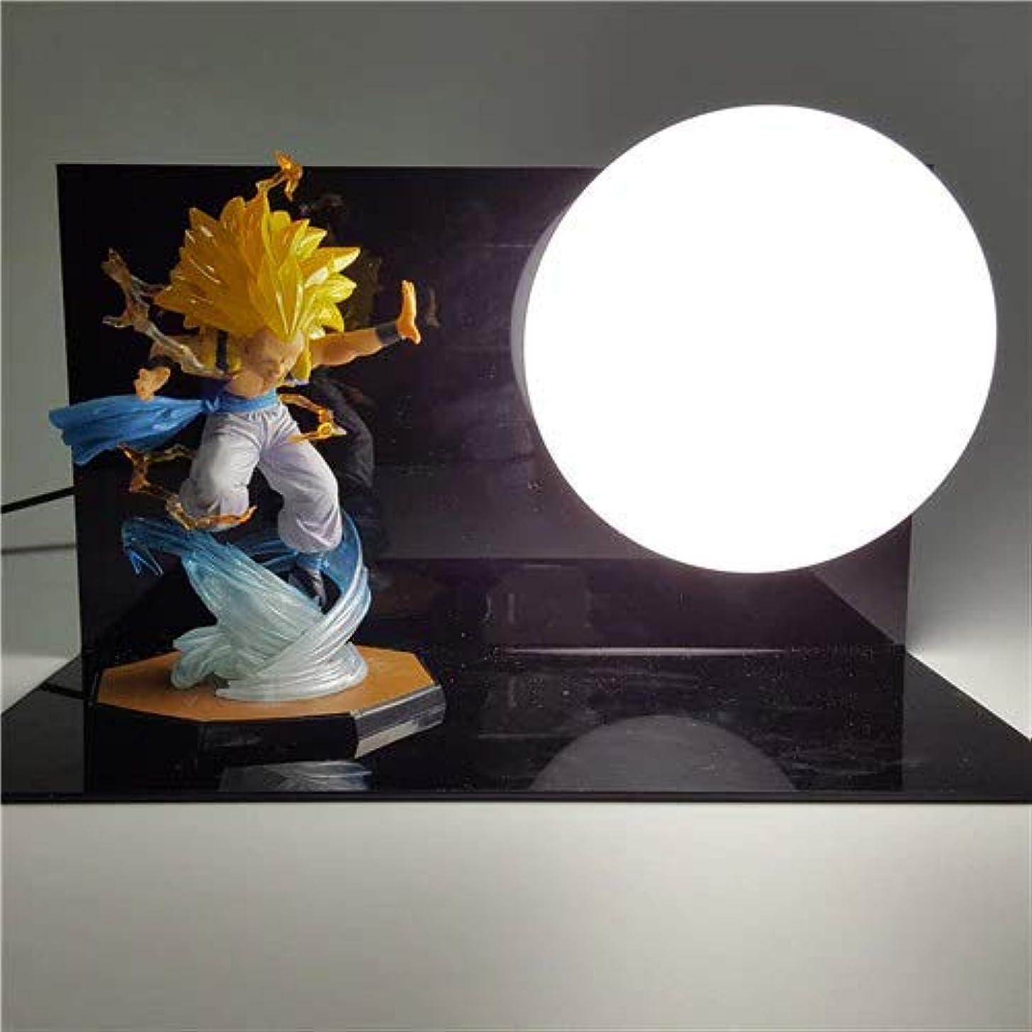 Vegeta Gohan Luminaria LED Dragon Ball Son Goku Night Lights Table Lamp Dragon Ball Room Decorative Lighting Holiday Xmas Gifts (5)