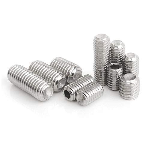 QingT M5M6M8 Female end Tightening 304 Stainless Steel screw-630 (10 Tablets)