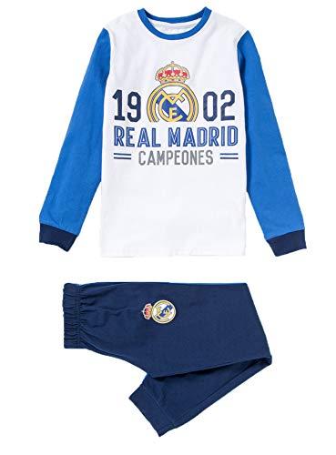 Pijama Niño Real Madrid 1902 Campeones Manga Larga Fino (10)