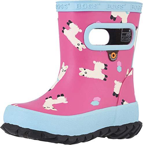 Bogs Kids Girl's Skipper Llamas (Toddler/Little Kid) Pink Multi 5 Toddler M