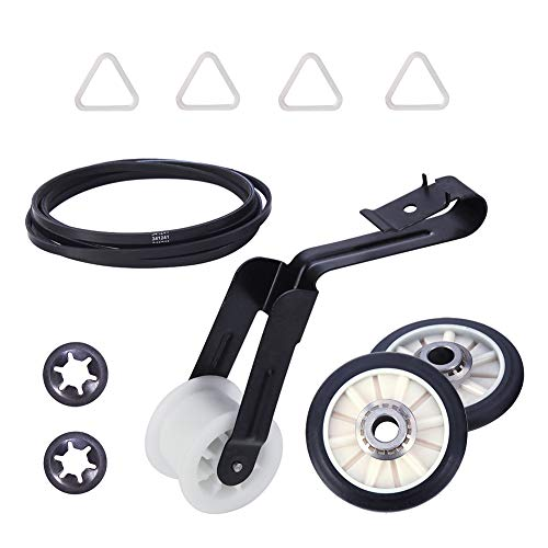 Price comparison product image 4392065 Dryer Repair Kit for whirlpool kenmore roper admiral maytag amana crosley estate inglis kitchenaid sears Including Belt 341241,  Idler 691366,  Rollers 349241t