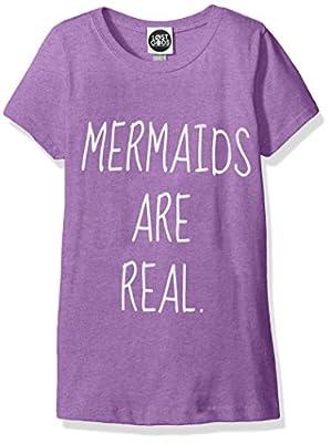 Fifth Sun Girls' Little Girls' Mermaid Graphic T-Shirt