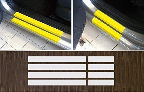 passgenau für VW Golf 7 Limousine und Variant, ab 2012, Lackschutzfolie transparent Einstiegsleisten Einstiege Türen