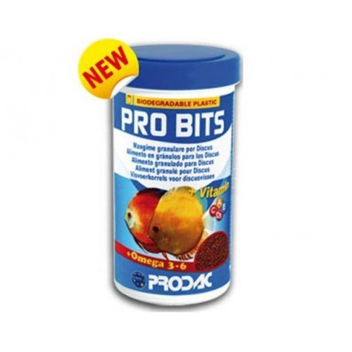 prodac Pro bits 250ml Alimento para Peces Discos