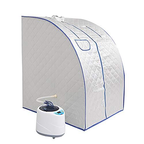 ZFF Vapor Cabina De Sauna Portátil Piel Sauna Infrarrojo Beneficioso Peso Calorías Pérdida De Bañera De Hidromasaje con Sauna Bolsa De Cuerpo Completo Fumigación generador