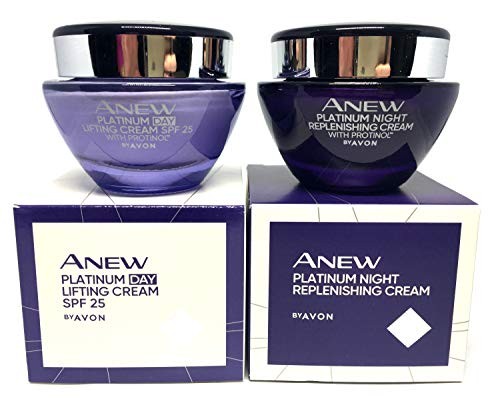 AVON Anew Platinum Define & Contour : Day Cream + Night Cream Set of 2
