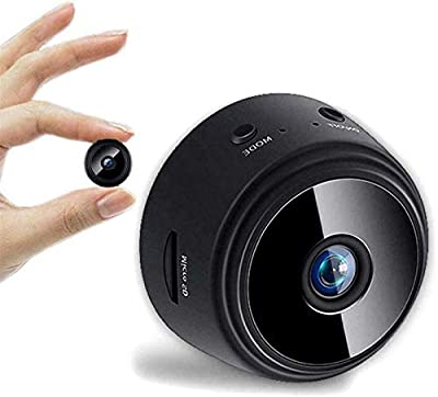 1080p Hd Hot Link Remote Surveillance Camera Recorder, Mini Spy Hidden Camera with Night Vision and Motion Detection, Mini Spy IP Camera Wireless WiFi Hd 1080p Hidden Home Security Night