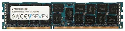 V7 V7106008GBR Server DDR3 DIMM Arbeitsspeicher 8GB (1333MHZ, CL9, PC3-10600, 240pin, 1.35 Volt, Registered ECC)